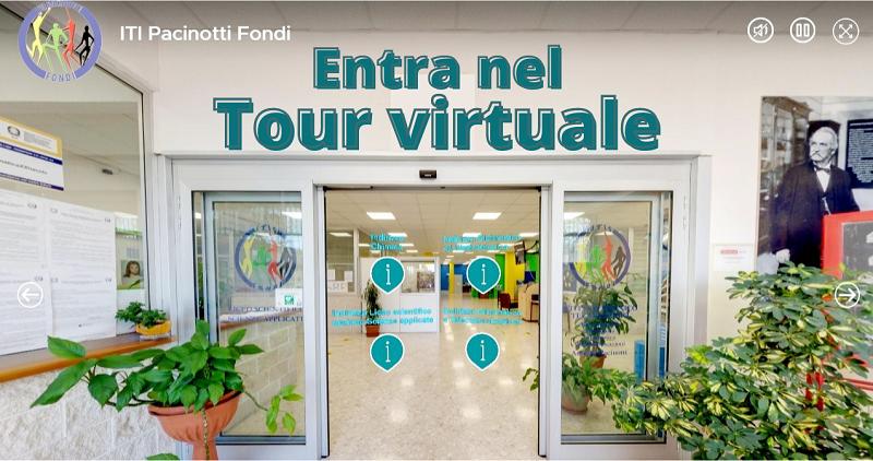 Tour Virtuale Pacinotti Fondi