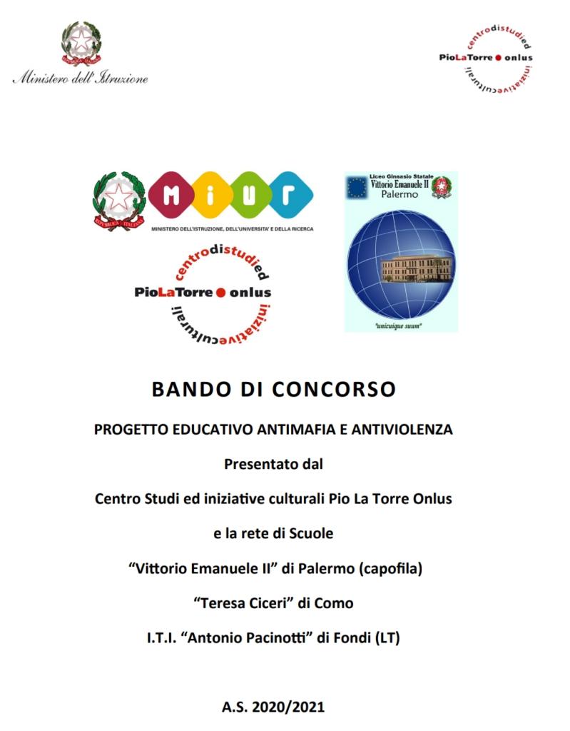 Progetto educativo antimafia e antiviolenza