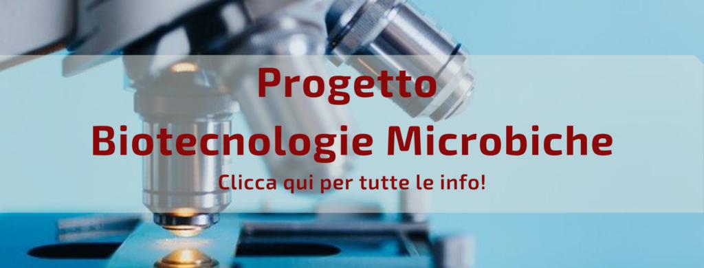 Progetto Biotecnologie microbiche