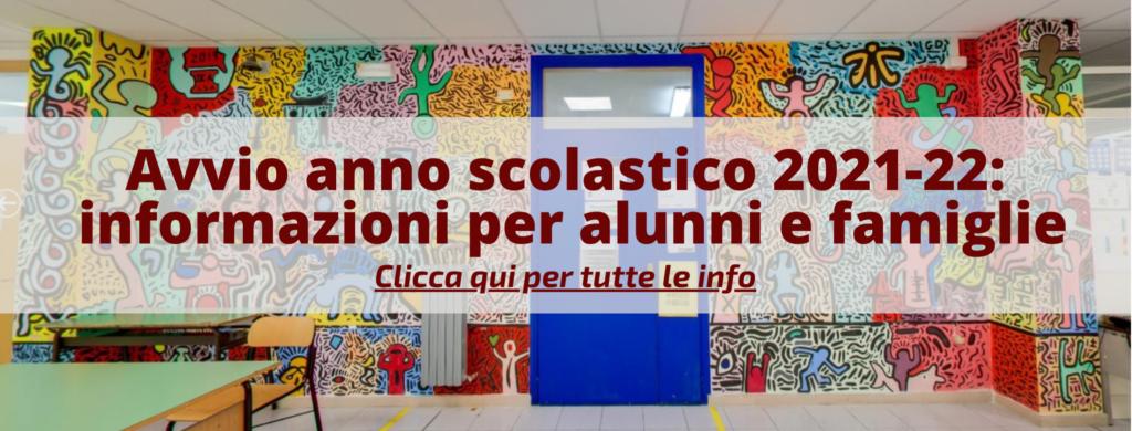 banner avvio anno scolastico